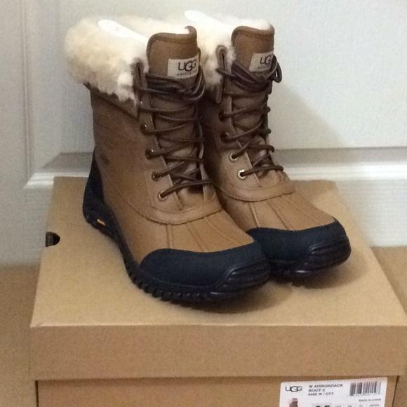 9cb4379d2fa 🆕UGG Adirondack snow boots otter waterproof sz8.5 NWT